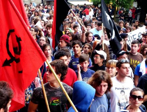 manifestazione 9 ottobre 2009 massa